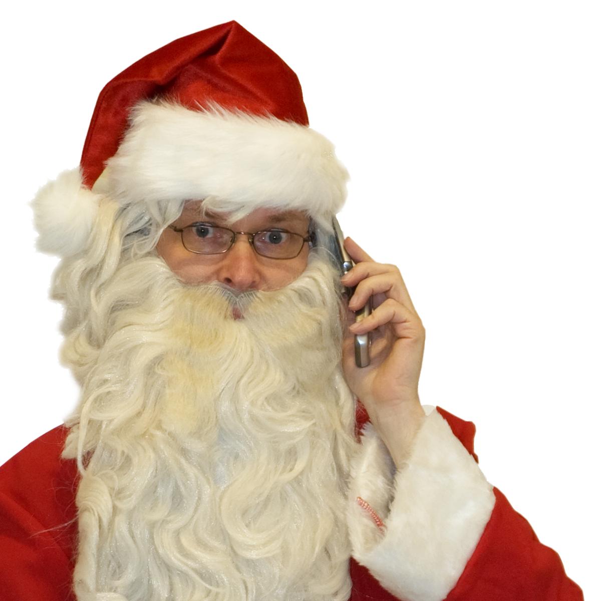 Père Noël téléphone maison