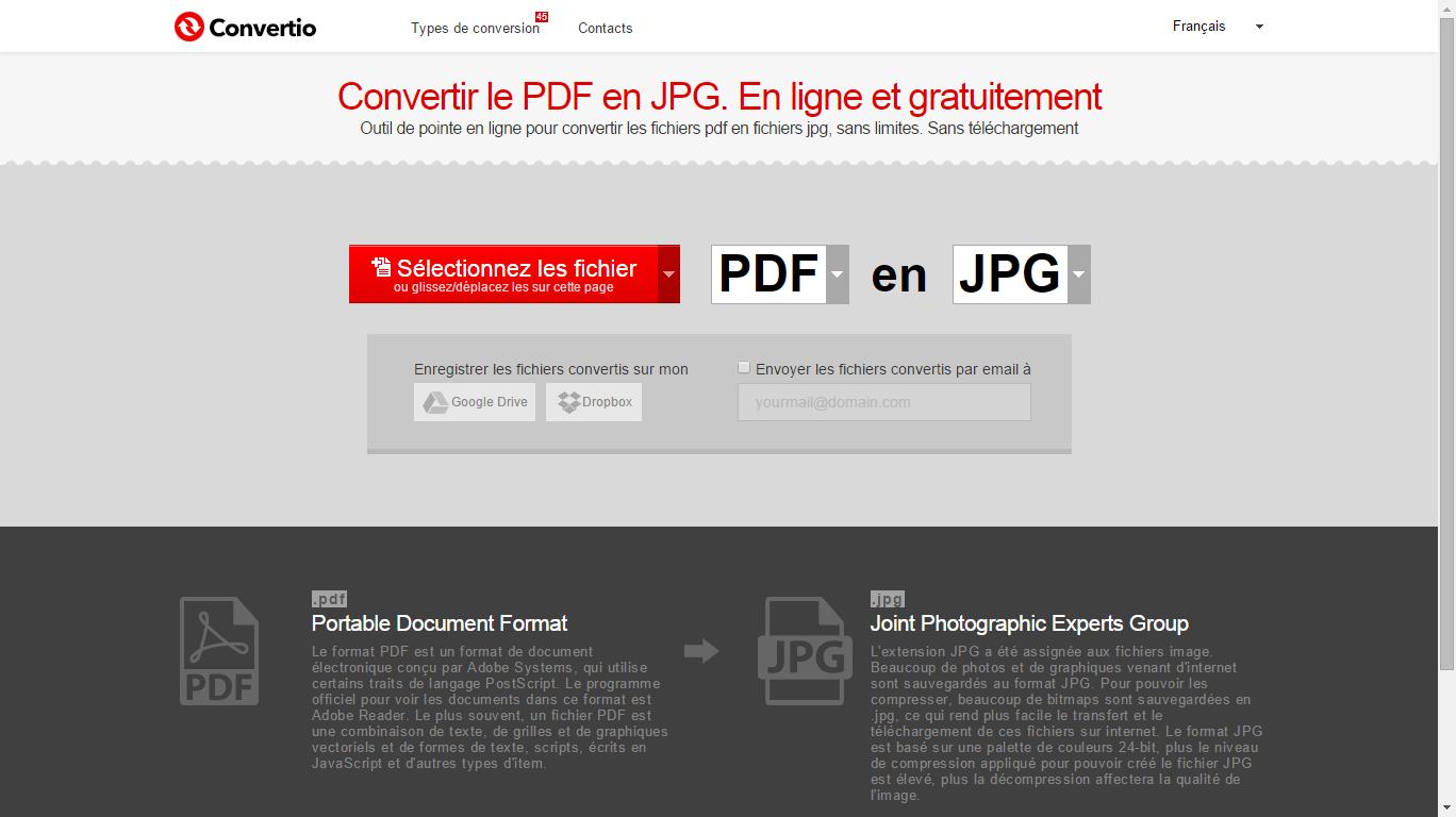 convertir pdf gratuit en ligne