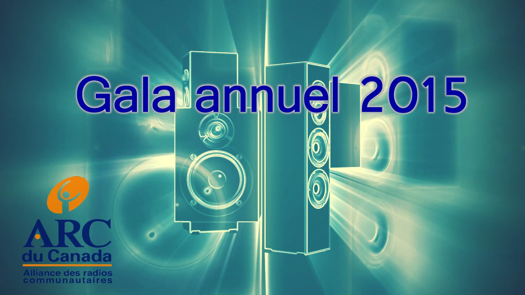 Gala annuel 2015 de l'ARC du Canada