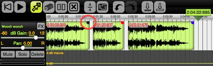 Beautiful Audio Editor