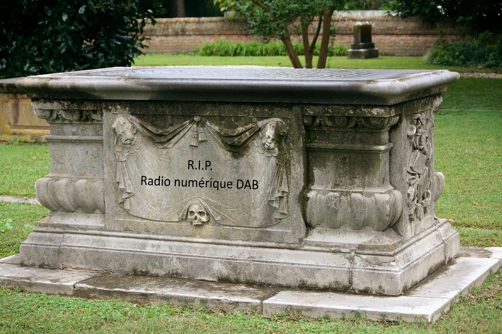 La radio numérique DAB est morte et enterrée